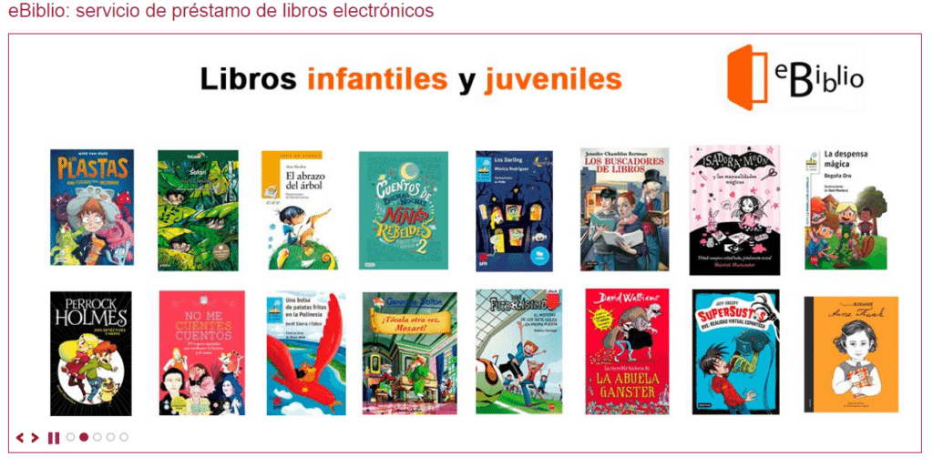 eBiblio: Bibliotecas online