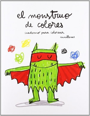 El Monstruo de Colores. Cuaderno para colorear