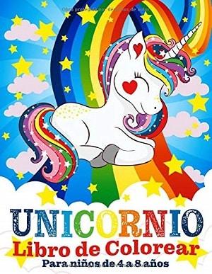 Unicornio: libro de colorear