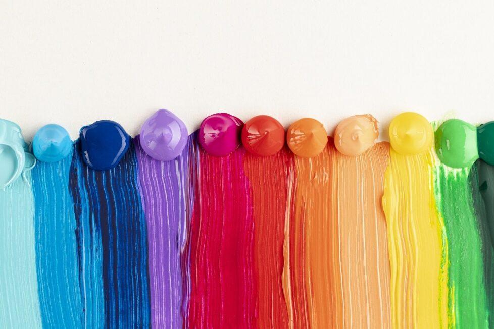 Pintura de colores
