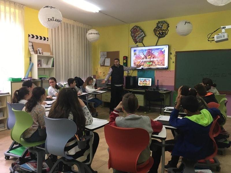 Educación a distancia en centros rurales con las tabletas de Samsung Smart School