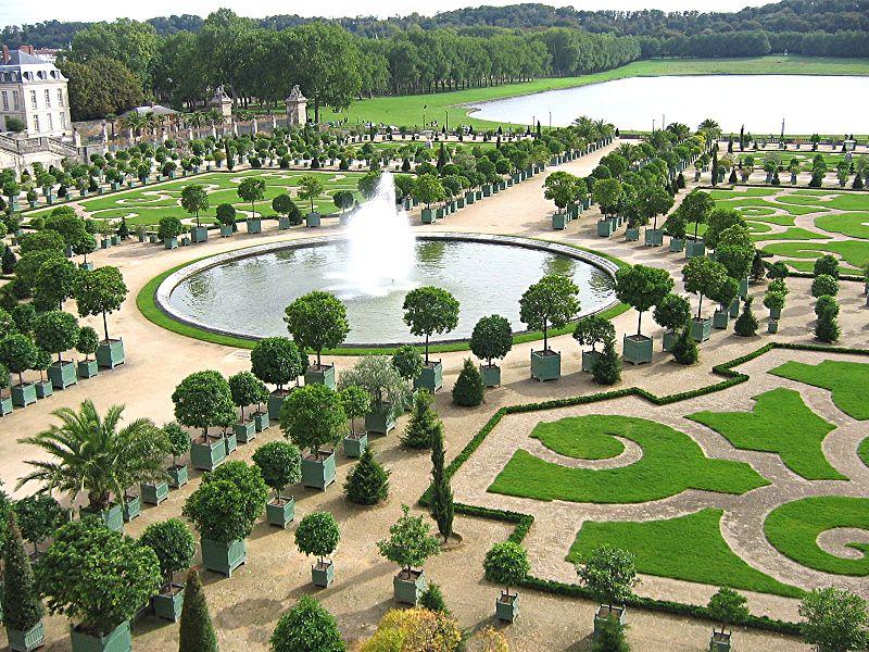 Los jardines del Palacio de Versalles (Francia) jardines virtuales