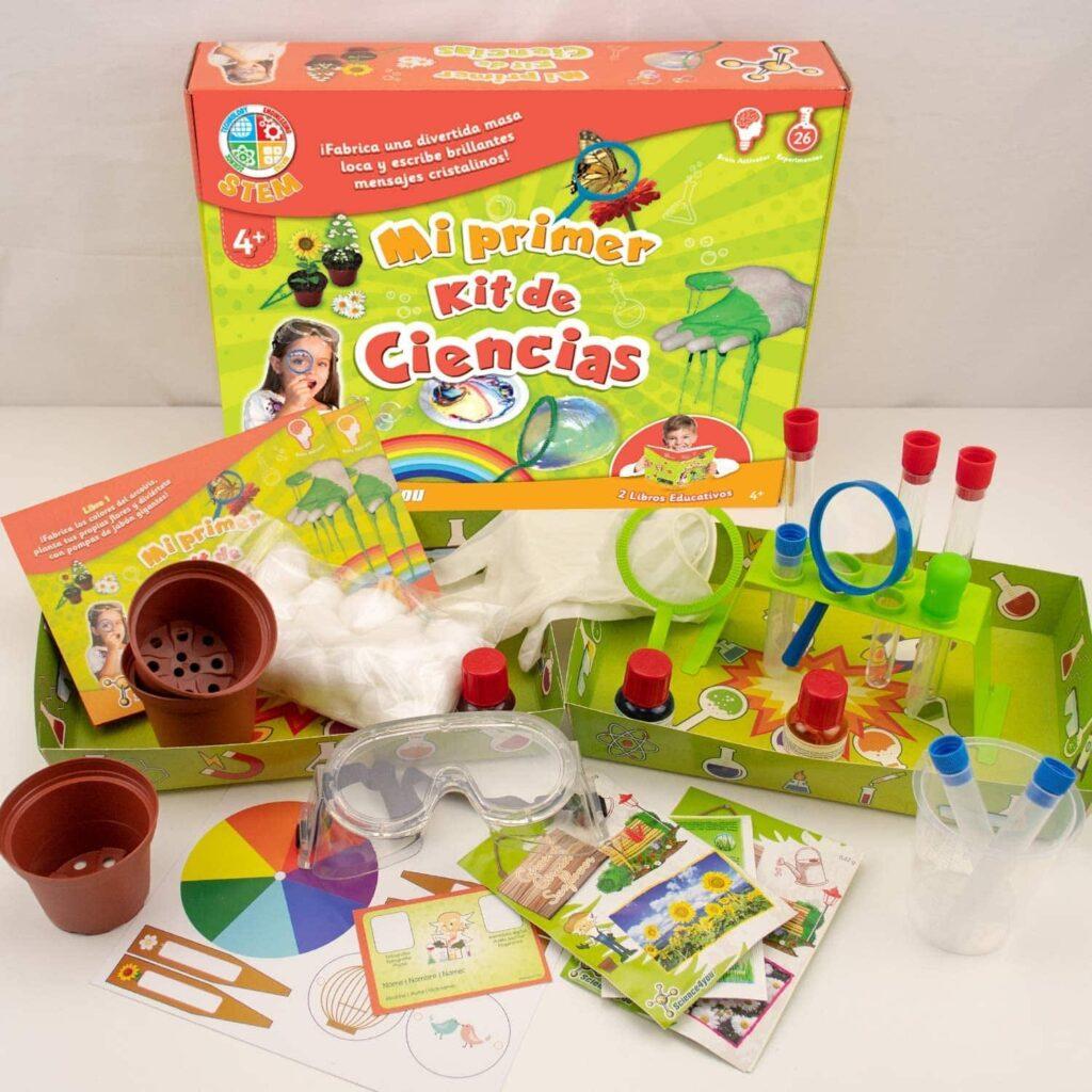 juegos de mesa para pequeños científicos