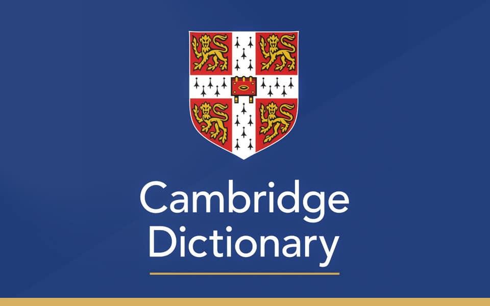 Cambridge diccionario online