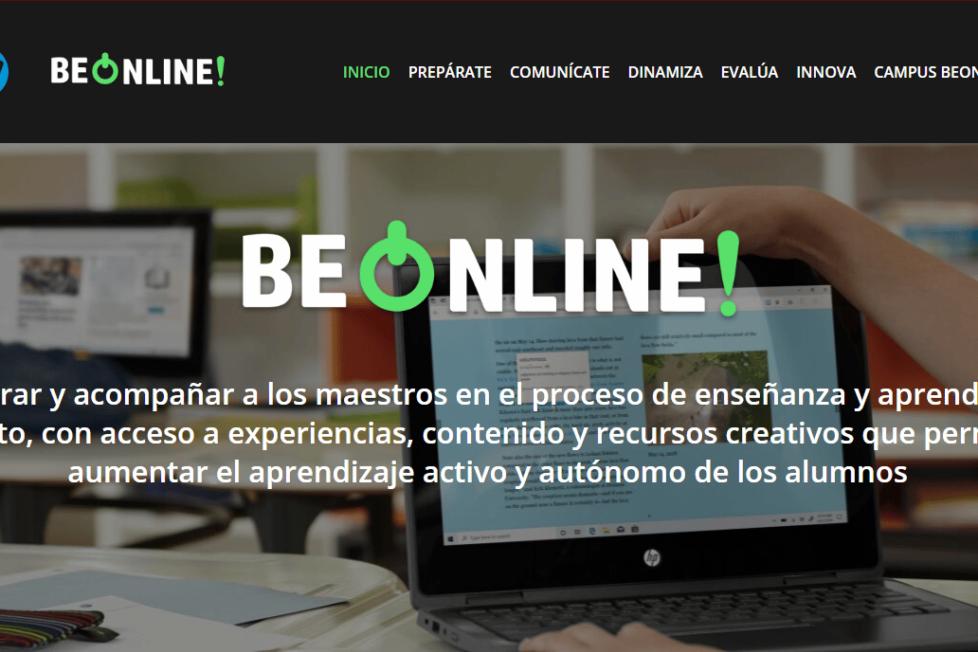BeOnline estrena web