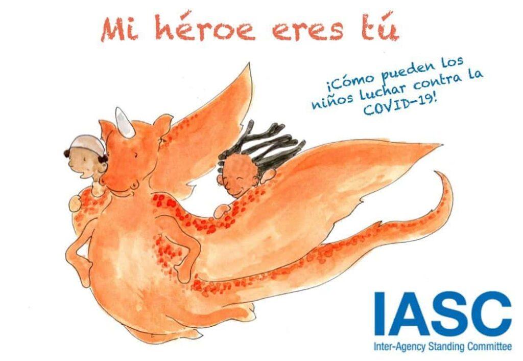 cuentos gratis coronavirus Mi héroe eres tú: ¡cómo pueden los niños luchar contra la Covid-19!