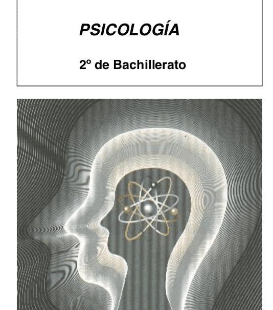 Psicología bachillerato