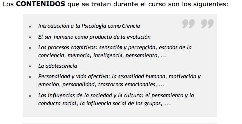 Psicología