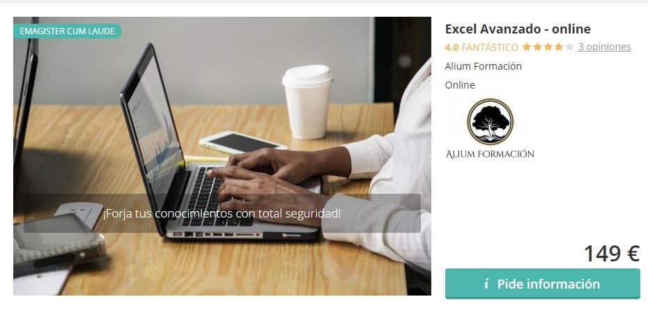 Excel Avanzado online