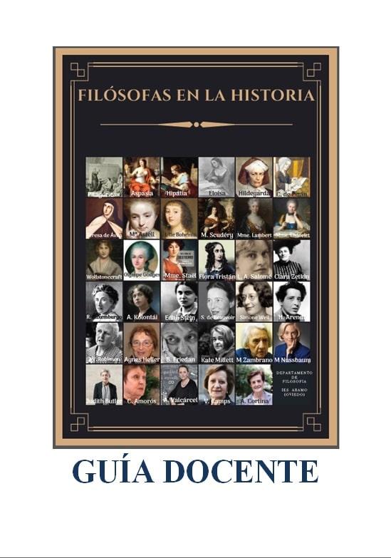 guía docente Filósofas en la historia
