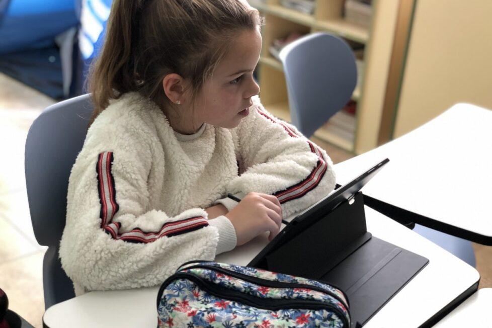 Educación a distancia en un centro rural gracias a las tabletas