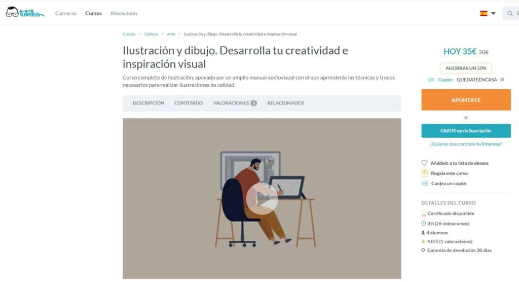 Curso de ilustración y dibujo