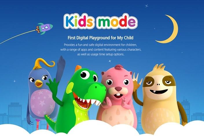 app Samsung Kids