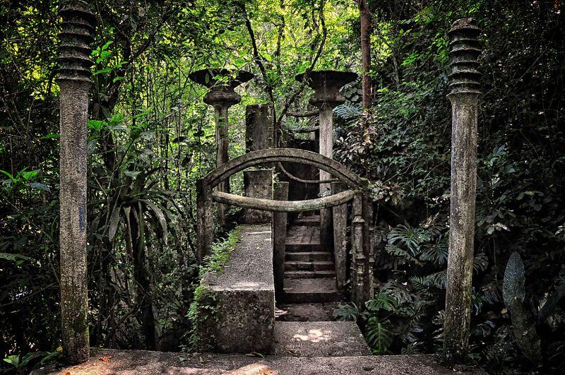 El jardín de las Pozas de Xilitla (México)