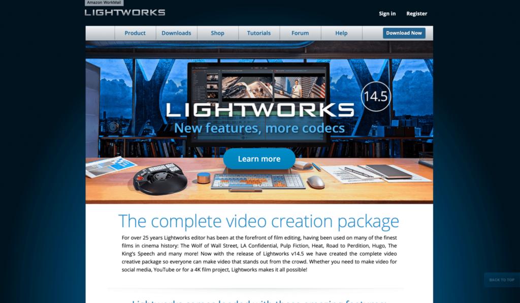 Lightworks programas gratuitos para editar vídeos