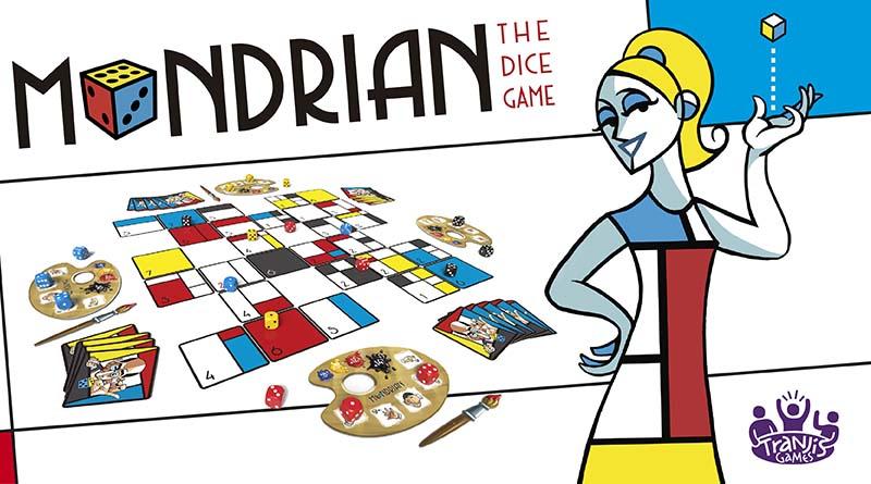 Mondrian juego de mesa