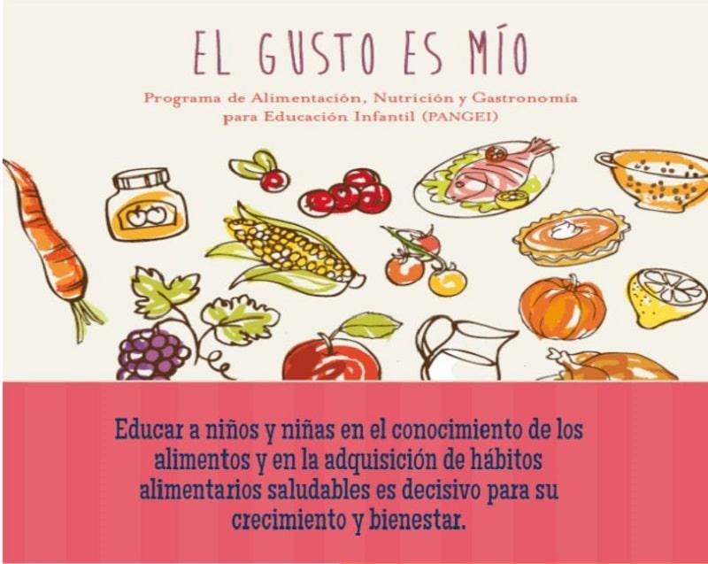 Aprovecha el confinamiento para que los niños aprendan a comer bien  con el programa PANGEI