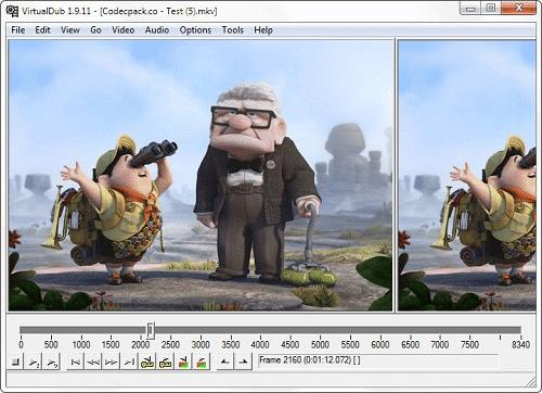 VirtualDub programas gratuitos para editar vídeos