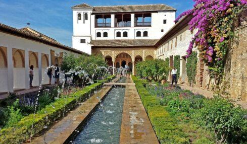 Jardines El Generalife Granada