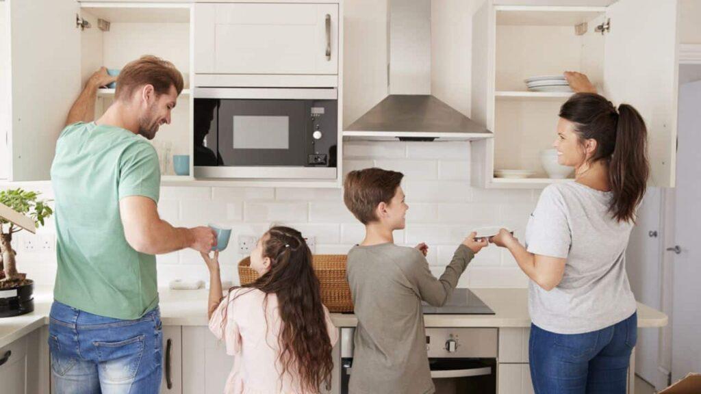 Organizar tareas domésticas