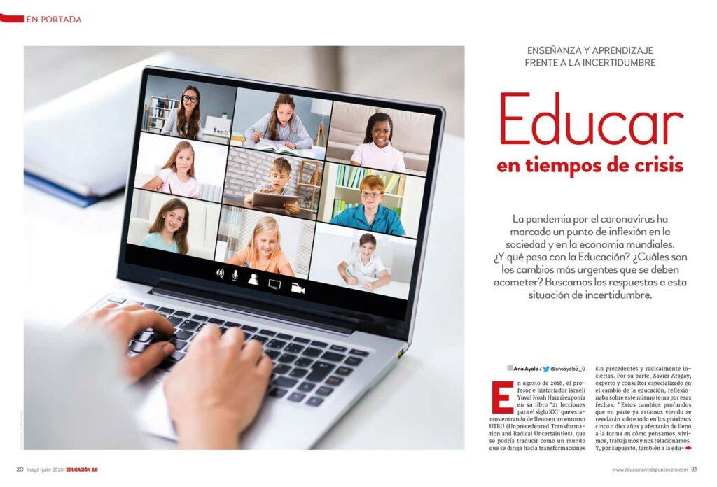 educar en tiempos de crisis revista EDUCACIÓN 3.0
