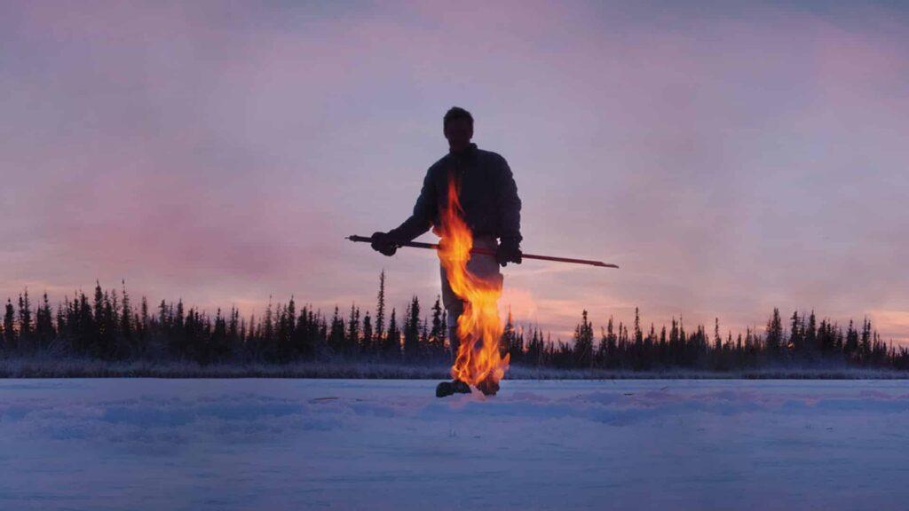 Hielo en llamas
