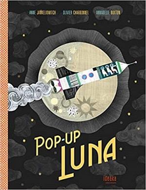 la Luna pop up book