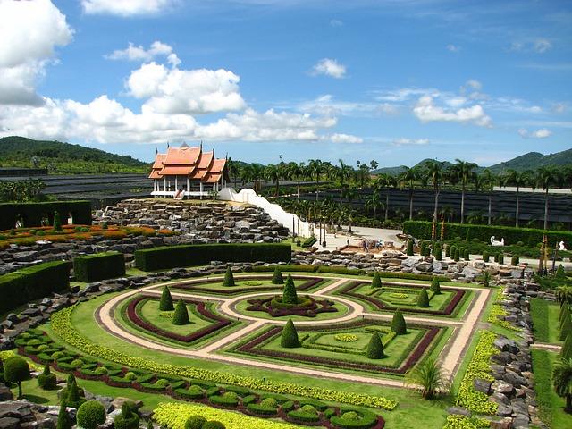El jardín botánico de Nong Nooch (Tailandia)