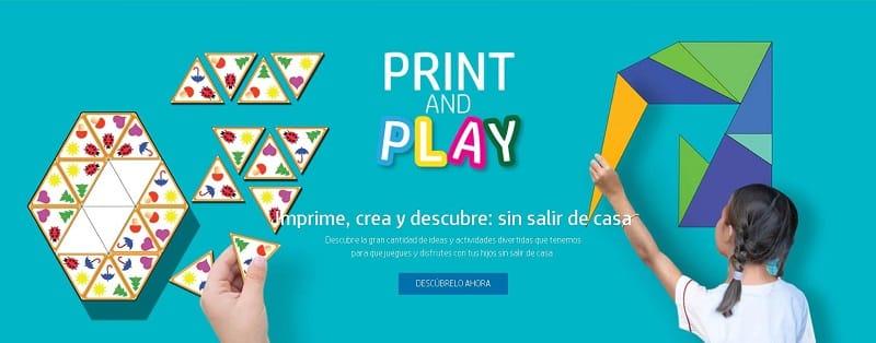 Imprimer et jouer