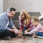 puzles educativos en familia