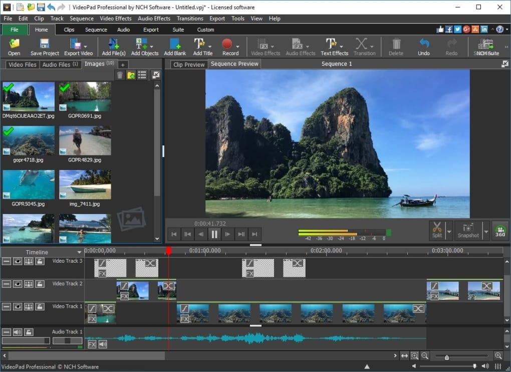 VideoPad programas gratuitos para editar vídeos