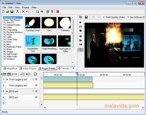 Wax programas gratuitos para editar vídeos