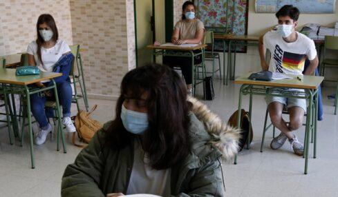 Nueva normalidad aulas