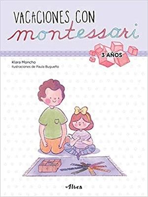 Vacaciones con Montessori 3 años
