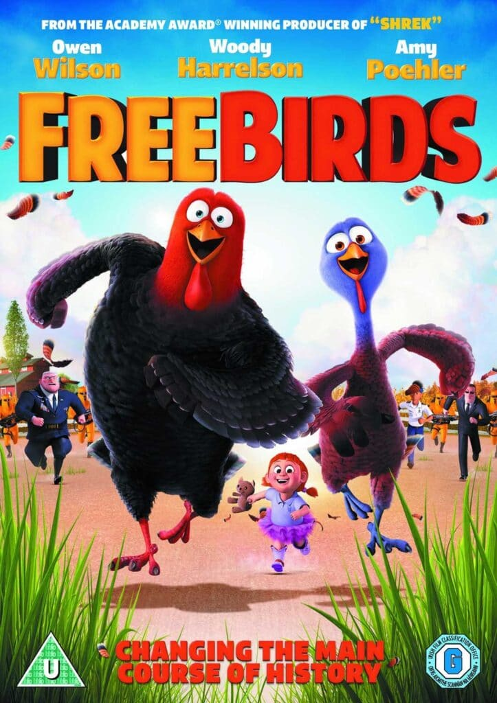 Free birds películas infantiles para aprender inglés