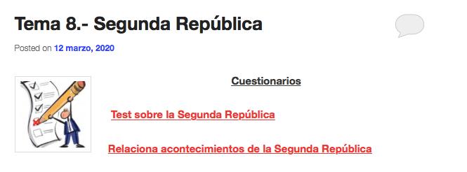 Historia de España EBAU