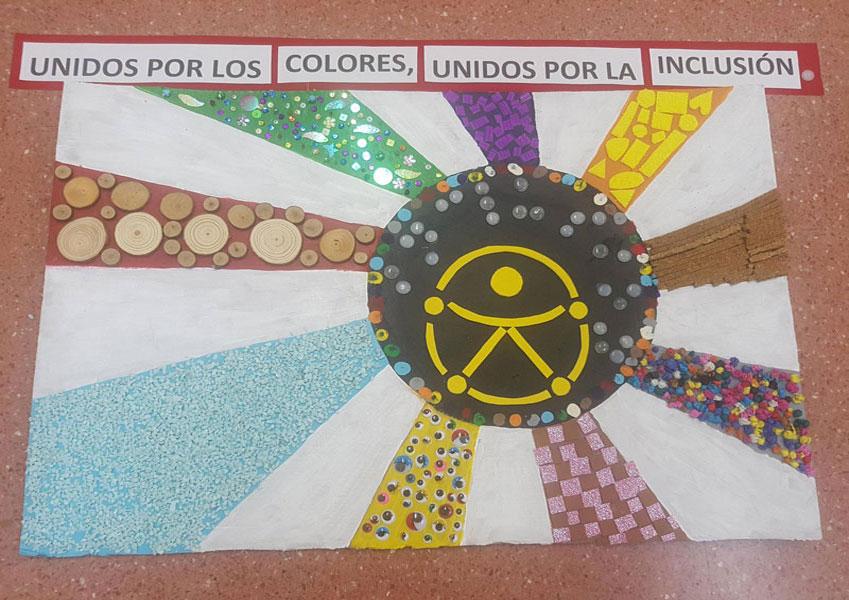 Trabajos escolares por la inclusión