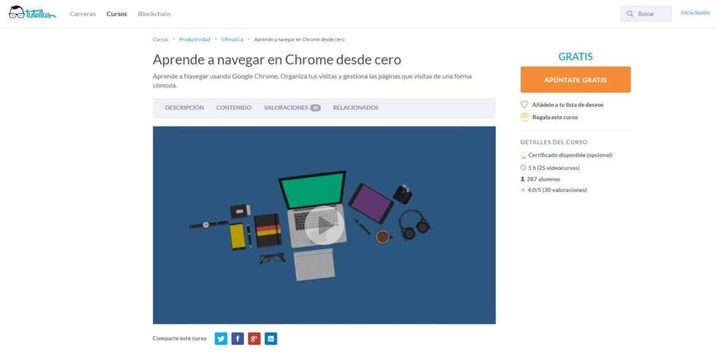 Aprender a navegar en Chrome desde  cero Tutellus