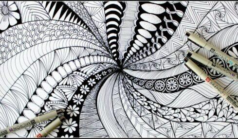 Zentangle arte de meditar
