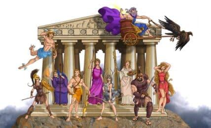 Mitología griega mitos y leyendas