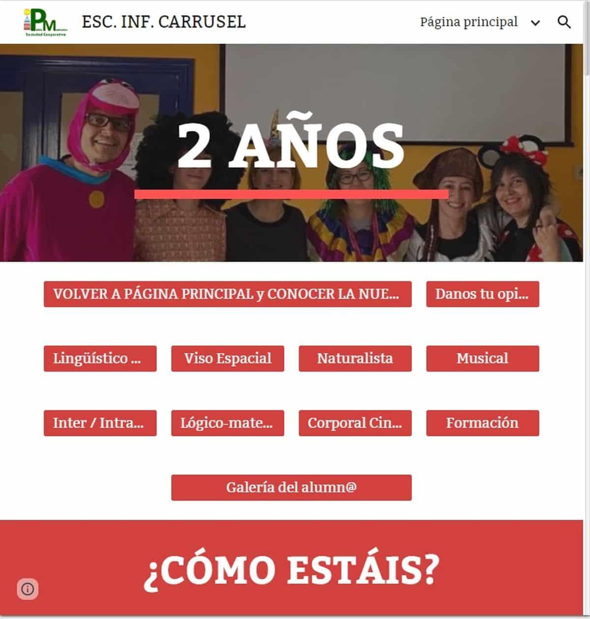 escuela infantil online confinamiento