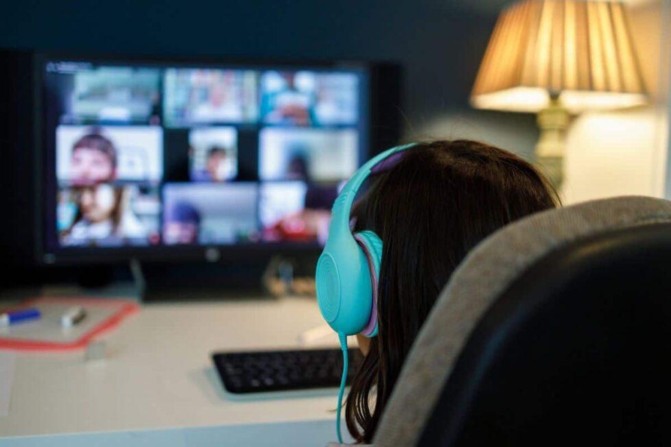 conexión online pandemia