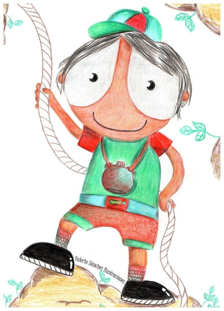 Ilustración de Alegría en 'Cuentos con emoción'. Juan Onieva. El aburrimiento propicia la creatividad.