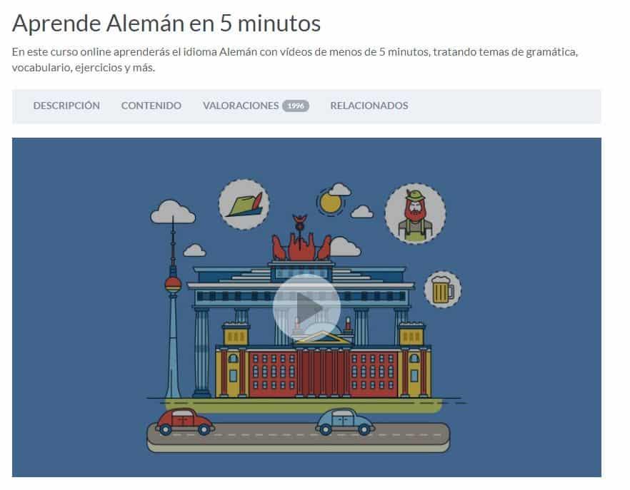 Aprende alemán con Cursos online de Alemán