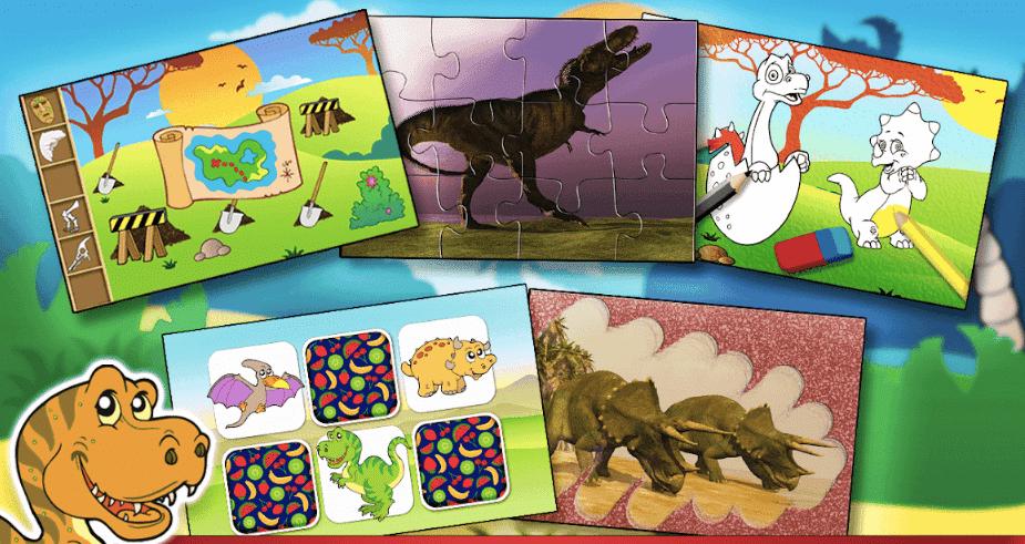 apps sobre dinosaurios