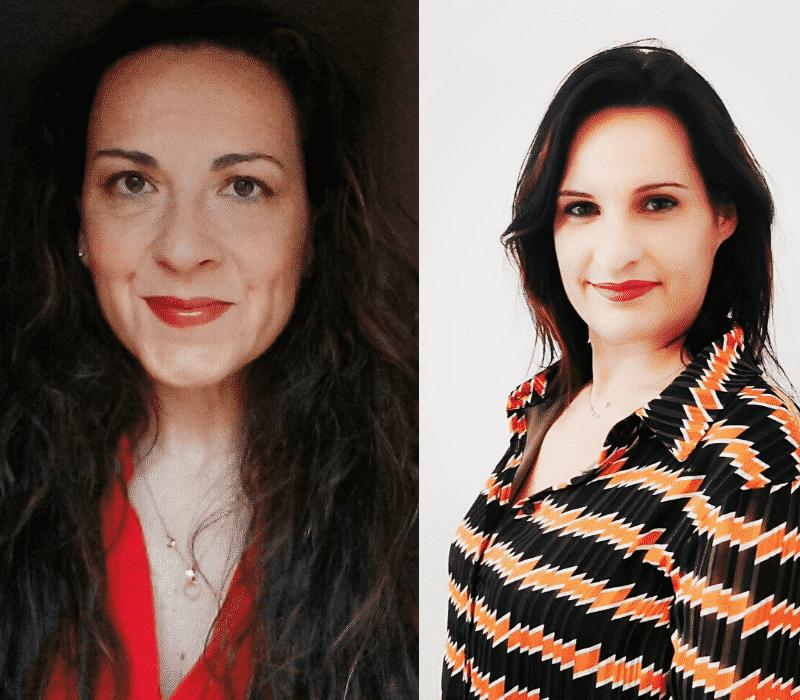 Antonia Martí Aras y Cristina Gabarda Méndez