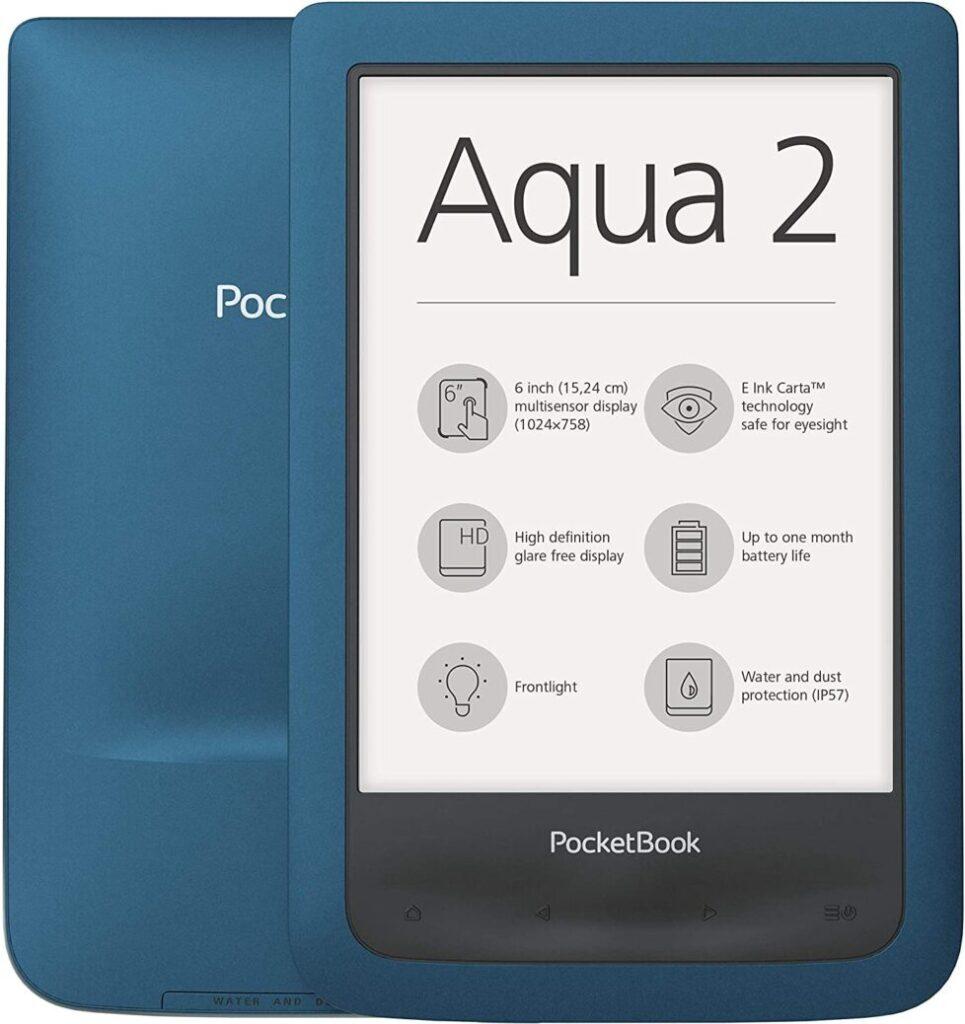 Aqua 2 Pocketbook eReaders resistentes al agua