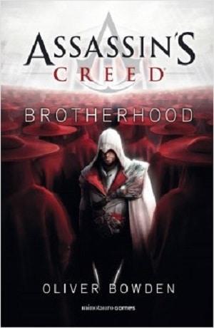 assassin's creed brotherhood portada de novela basado en videojuego