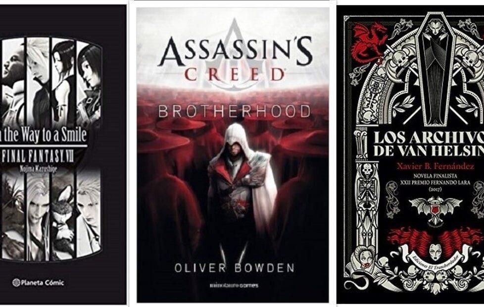 videojuegos novelas
