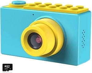 Kriogor Cámara de fotos para niños